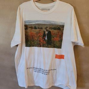 Justin Timberlake concert tshirt